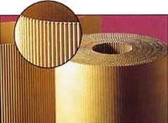 Rotoli di cartone ondulato